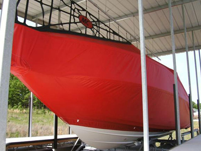 Custom Cruiser Boat Cover